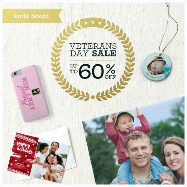 Zazzle Veterans Day Sale 2015