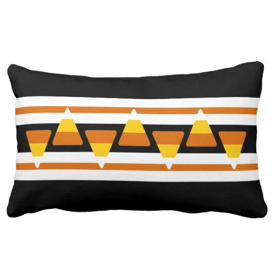 Candie Hattingdon design inspired rectangular pillow. © Vivian Grant Farrell.