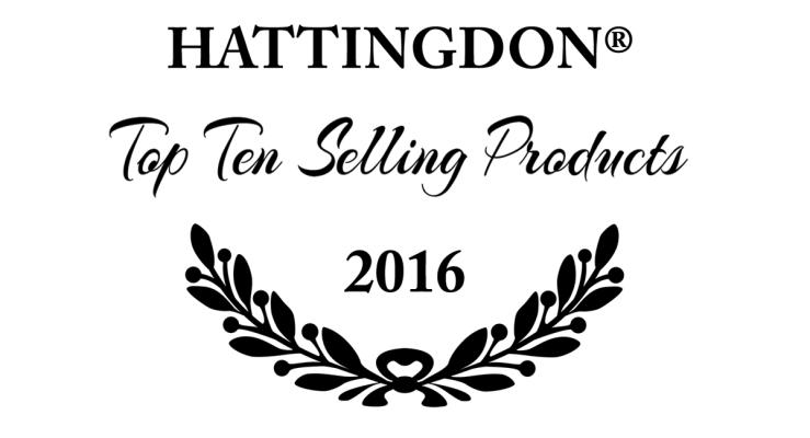 Top Ten Hattingdon Products 2016 Artwork. By Vivian Grant Farrell.