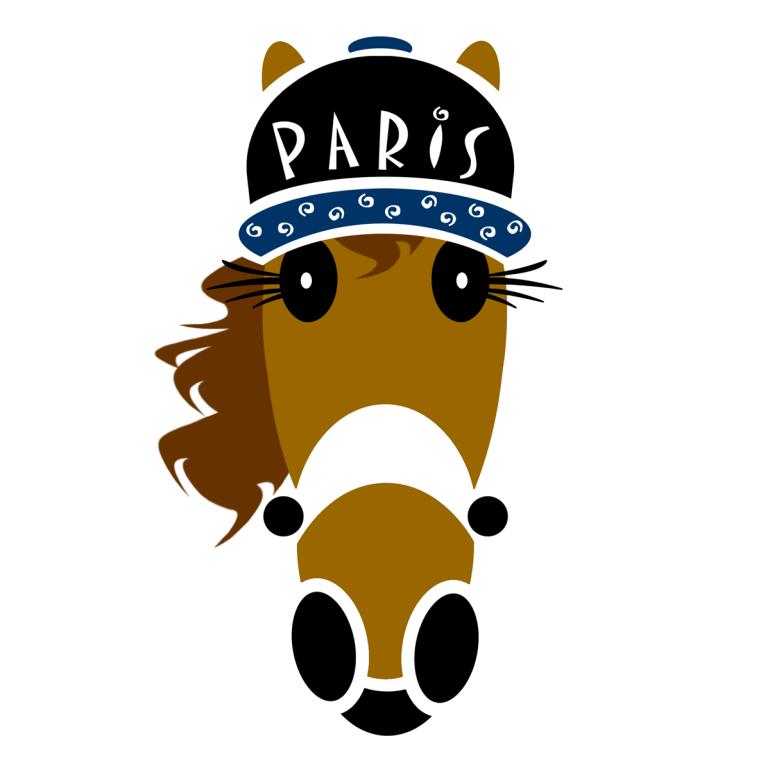 Paris hat design created by © Vivian Grant Farrell for Hattingdon®