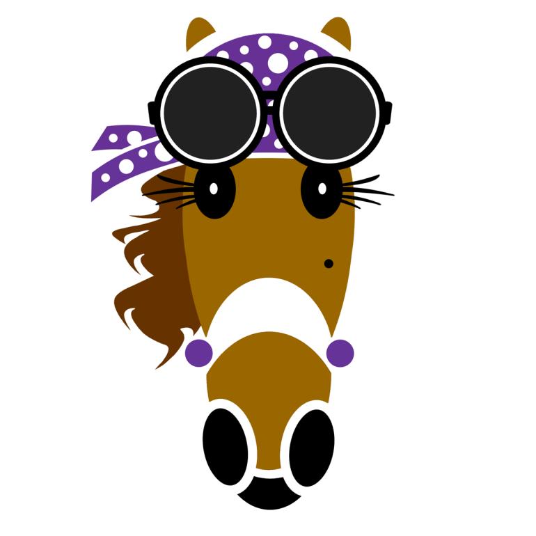 Skylar Hattingdon Violet created by Vivian Grant Farrell for Hattingdon Horses®.