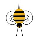Honey bee clipart by Mrs Farrell.